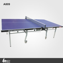 Wholesale Club Training Double Folded Ping Pong Table With Wheels