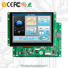 8 inch flexible screen touch & control system for full HMI solution