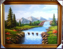 hotel and home artwork Excellent classical oil painting ct-48