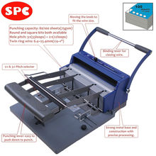 SPC RBX-100 3:1 & 2:1 pitch book binding machine
