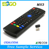Cheapest price b2go mx3 2.4GHZ universal led tv remote control for android tv box