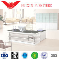 Office table designs ,executive table for sale , glass table HT-596