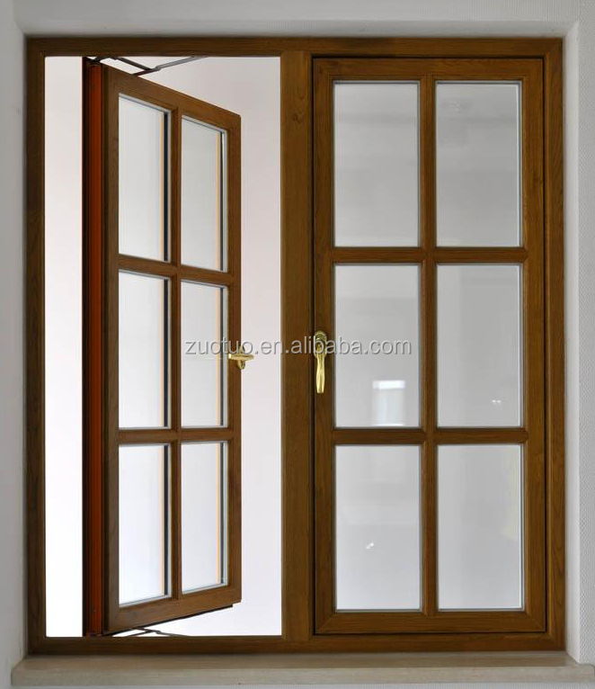 Graceful Aluminum Casement Window Interior French Window