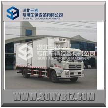 DONGFENG refrigerated box van truck, freezer cargo van,frozen truck