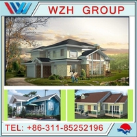 High Qualiy Steel Villa House/Steel Structure Villa/Villa House made in China