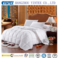 Yintex-Luxury Eco-Friendly Breathable Good Price Duck Or Goose Down Comforter 100% Cotton