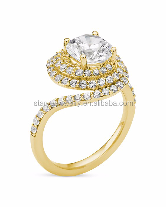 1 carat 14k yellow gold diamond ring wholesale factory for Wholesale 14k gold jewelry distributors