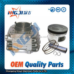 Scooters Motorcycles Motorcycle Engine Parts for Qingqi Suzuki GS200cc engine cylinder block 66mm dameter