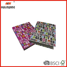 PVC plastic ring binder ideal for office school home and business trip