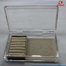 China supplier acrylic jewelry box for necklace & custom necklace box