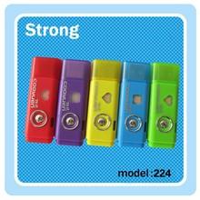 Lowest price USB LED mini torch plastic small torchlight
