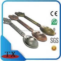 Promotional ues ornaments decorative San Pietro Italy /USA/Germany tourism building style souvenir metal ladle
