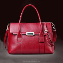 100% Genuine leather handbag for women fashion ladies tote bag