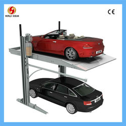 CE/UL/GS certified auto parking equipments wow8027