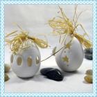 China fornecedor novos produtos cerâmicos decoração do feriado ovo de páscoa
