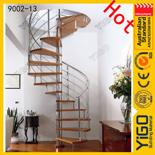 factory quality spiral stairs/spiral stair plans