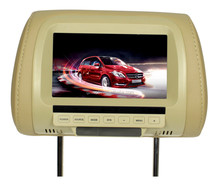 7 inch screen size tft lcd headrest monitor for universal cars