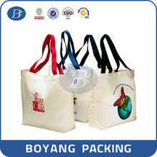 Manufacturer of natural canvas tote bags