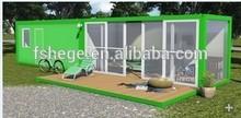 Casa contenedor de paquete plano para la venta