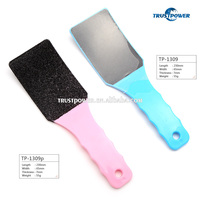 Sandpaper foot file with long handle