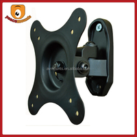 High Density VESA 100X100 10-24 Small Screen LCD LED Tilt 10 Degrees Cold Rolled Steel TV Pole Mount