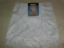 lady panty safe boyshorts with fancy lace