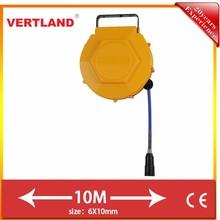 VERTLAND 10M 3/16inch Retractable Air Hose Reel for Vacuum Cleaner