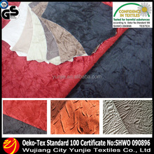 Polyester Crushed Suede Fabric/Crushed Microfiber Suede