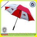 logotipo personalizado guarda-chuva de golfe guarda-sol/tecido impermeável para guarda-chuva