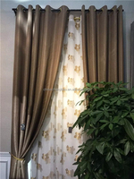 2015 china wholesale blackout curtains,fancy living room curtains