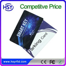 Lowest cost 125khz RFID printed business cards