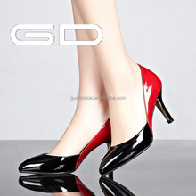 Made in China Shiny High Heel Lady Shoes Pumps for New Fashions
