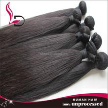 Alibaba china hot selling natural yaki wave peruvian hair yaki perm straight hair peruvian hair weave