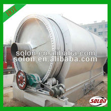 Automatic Environmental-friendly waste tyre pyrolysis equipment with high efficiency