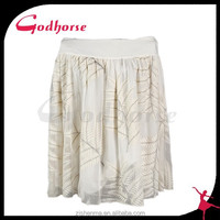 China top product latest design fashion design short beach skirt