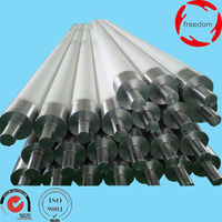 Fused Silica Ceramic Roller with Specification 25mm*1028mm