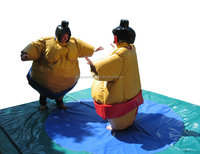 PVC and Foam inflatable sumo wrestling suits for kids and adults M6004