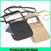 Customized travel waterproof RFID Blocking nylon neck wallet