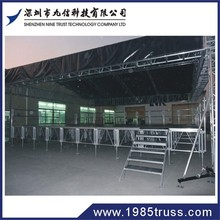 High quality and good price aluminium frame wooden platform outdoor stage