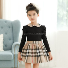 Back Bow Child Clothes Boutique Girl Dress New Model Kids Clothes Baby Girl Dress