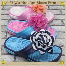 Infant Barefoot Sandals Light Blue Summer Thong