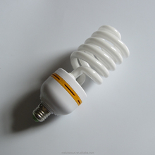 85W half spiral CFL lamp energy saving light manufactory