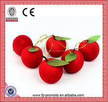 Apple shape decoration for christmas tree