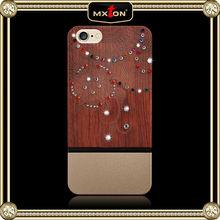 Modern Style Diamont Walnut Wood For Iphone 5C Ultra Slim Case