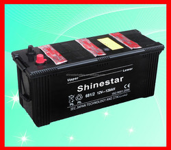 Dry Charge Car battery 12v 120ah to Zimbabwe
