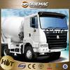 Sinotruk Howo 8 cubic meters diesel cement truck in nigeria