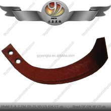 China hot selling agriculture machinery parts double hole rotary tiller blade