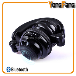 Without Wire Design China new products 2015 innovative product /2 in 1 wireless headphone with external speakers
