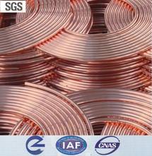 Pancake copper coil, Brass tube C10200 C12200 Copper capillary tube heparin for Heat Exchange Tube