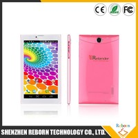 Crelander GT01 phablet 7 Inch android 4.4 3g tablet with built-in gps